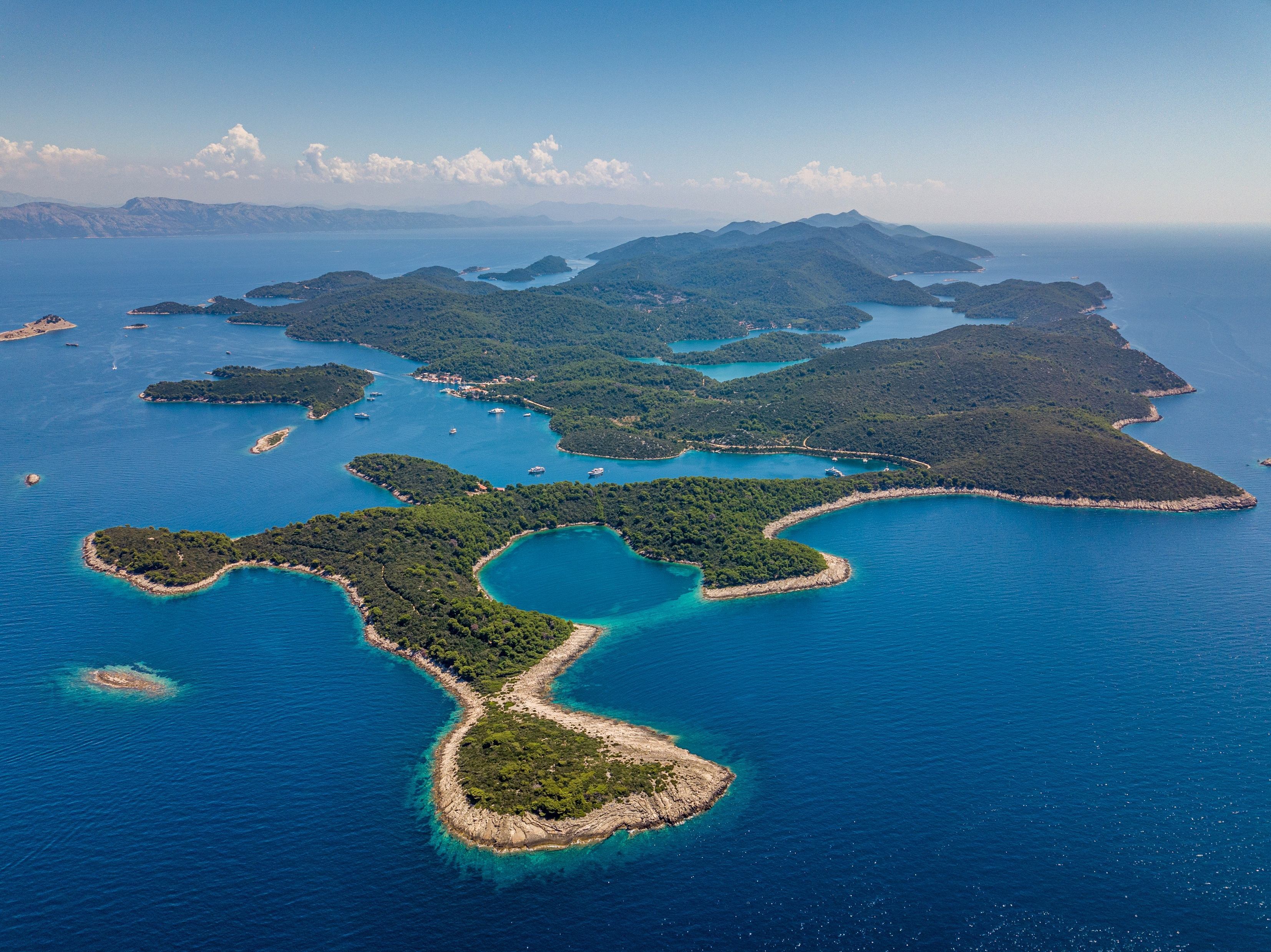 Mljet archipelago (Croatia Tourist Office)
