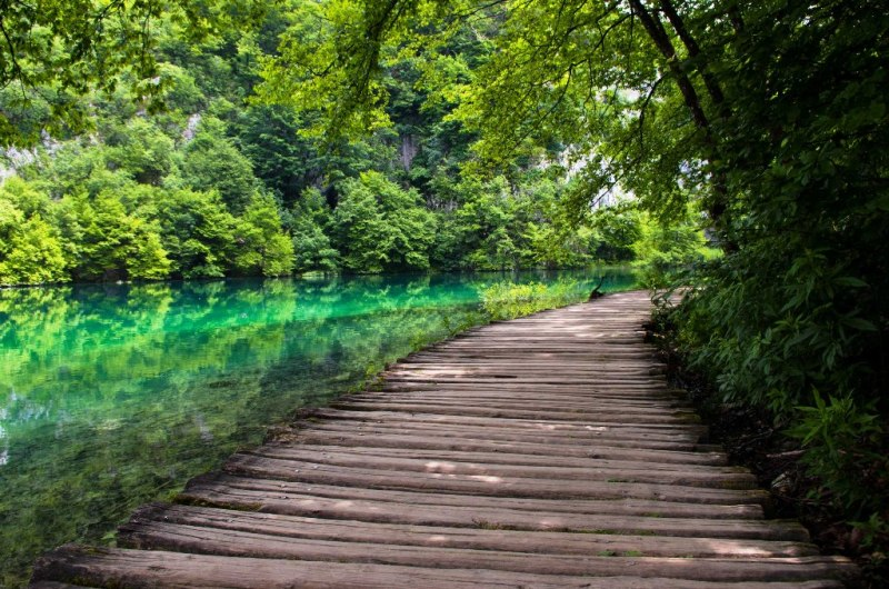 Plitvice National park - boardwalks