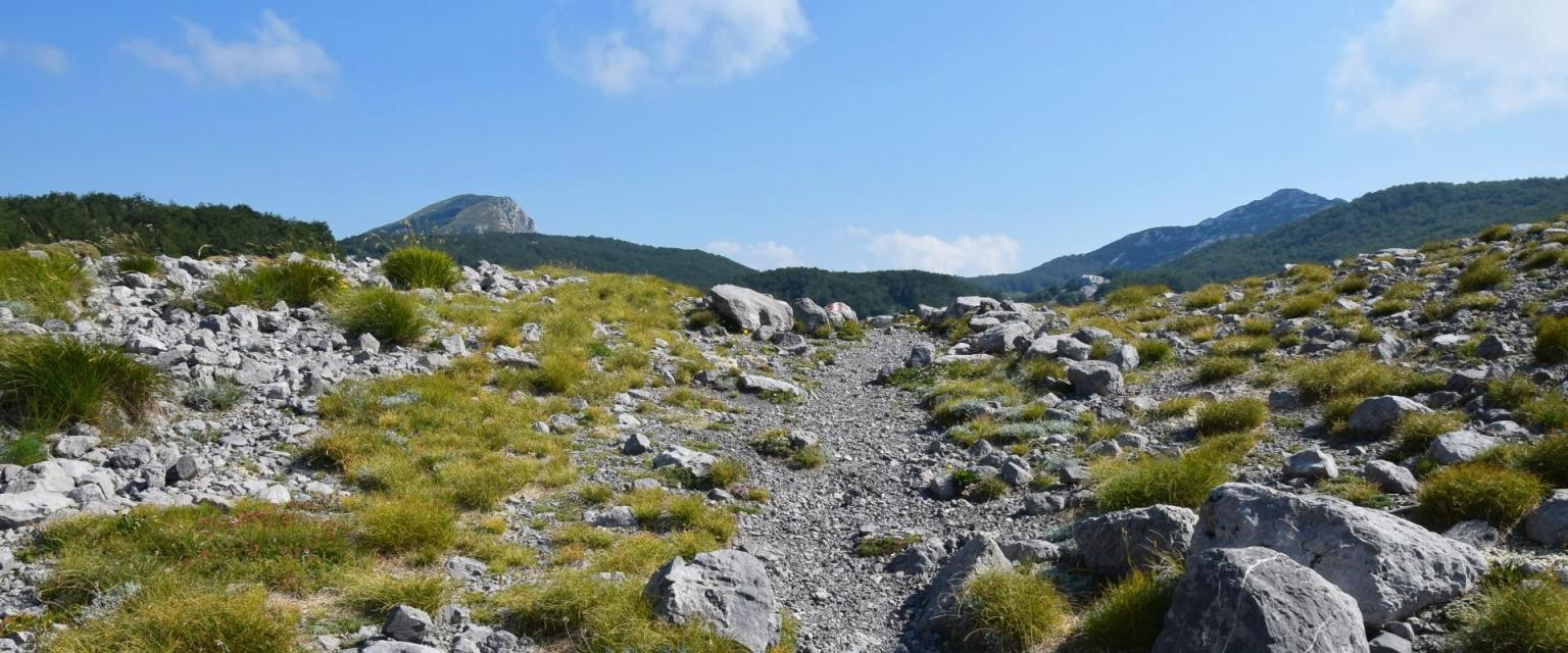 Hiking trails and peaks (Paklenica National Park)